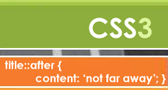 Symbolic Picture of CSS3